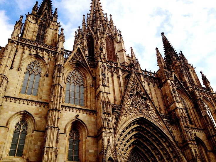 Barcelona Cathedral Holy Cross And Saint Eulalia