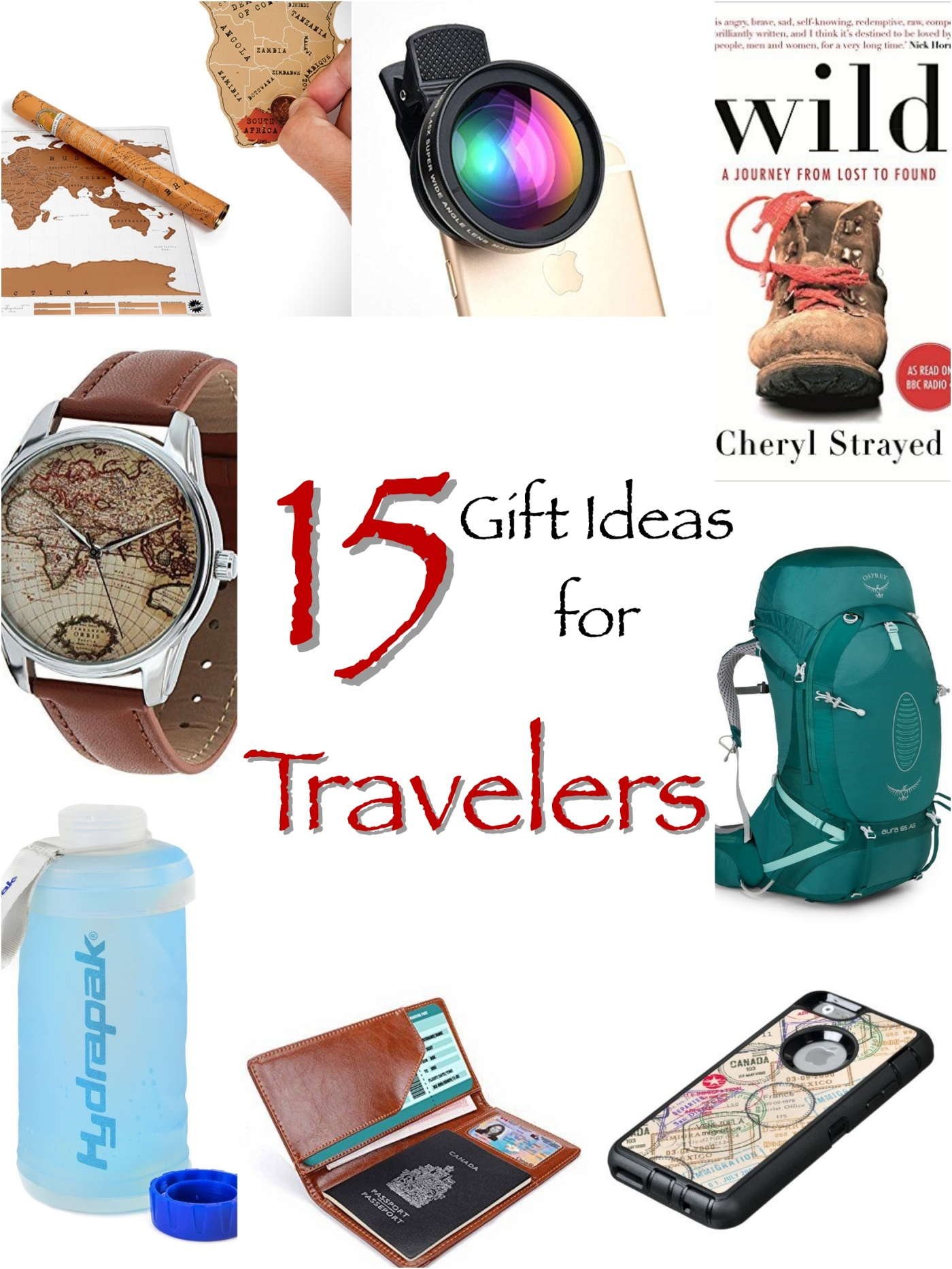 15 Gift Ideas for Travelers – Antevasin
